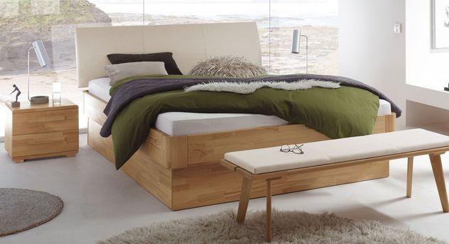 Modernes Bett Ballina optional mit Lattenrost