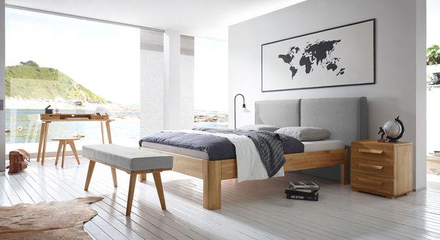 Bett Barra mit passenden Schlafzimmermöbeln