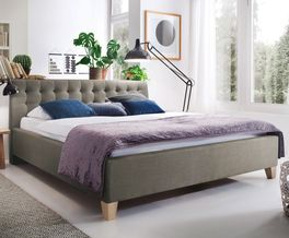 Stabiles Bett Batana im stilvollem Design