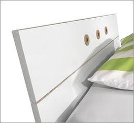 preiswertes alpinwei es bett im skandinavischen design beano. Black Bedroom Furniture Sets. Home Design Ideas