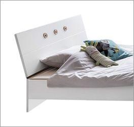 Bett Beano Standfuß aus Spannplatte