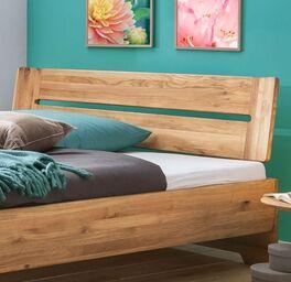 Bett Bekan mit Kopfteil in modernem Design