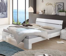 Bett Black und White in stllvoller Optik