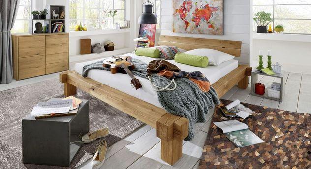 Bett Corumba mit passendem Schlafzimmer-Zubehör