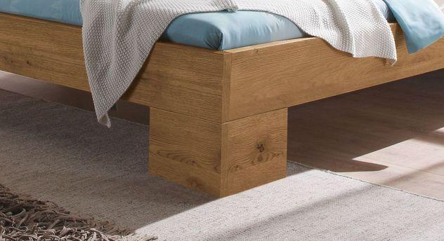 Bett Dano mit stabilen Winkelfüßen
