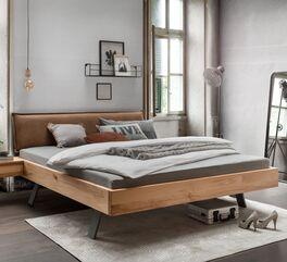 Hochwertiges Bett Davan aus massivem Kernbuchenholz