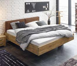 Bett Dourados mit breitem Bettrahmen