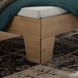 Bett Enos mit stabilen Winkelbettbeinen