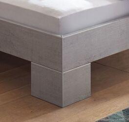 Bett Eris mit robusten Winkelfüßen