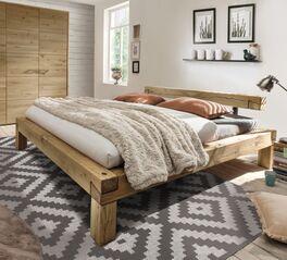 Bett Feist aus massivem Echtholz