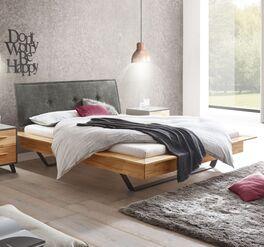 Bett Feruso im trendigen Factory-Stil