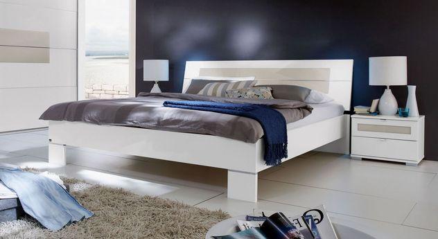Preiswertes Bett Filetto in geradlinigem Design