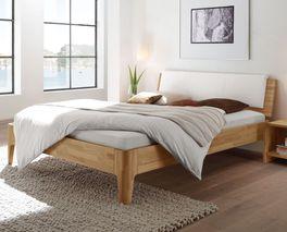 Bett Florina mit komfortabler Bettrahmenhöhe