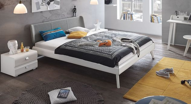 Jugendliches Bett Francisco aus robustem Material