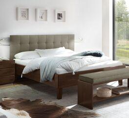 Zweifarbiges Bett Fucino in trendigem Design