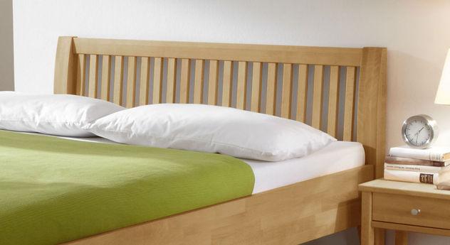 Bett Glarus Komfort mit Latten-Kopfteil