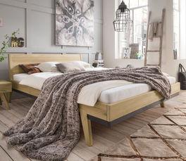 Bett Gordola aus biologisch geöltem Holz