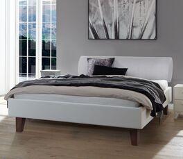 Elegantes Bett Ikar mit bequemer Polsterung