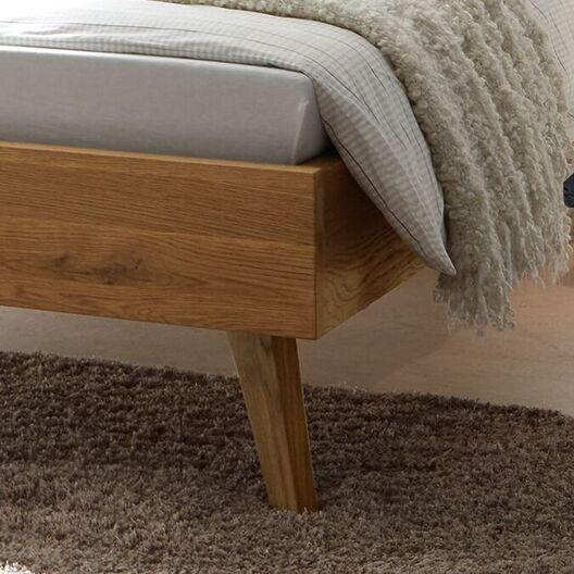 Bett Sandel mit schmalen Bettbeinen