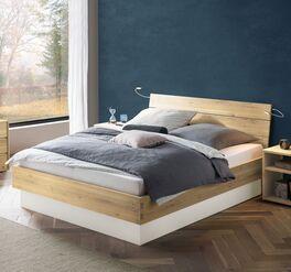Bett Larus aus massiver Wildeiche kaufen