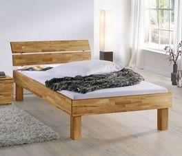 Bett Madrid Komfort mit markanter Maserung