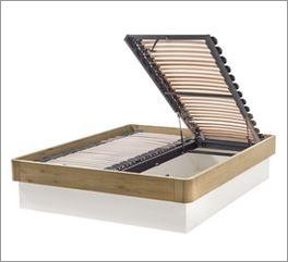 Bett Majuro optional mit geräumigem Bettkasten
