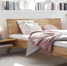 Bett Malinga mit natürlicher Maserung