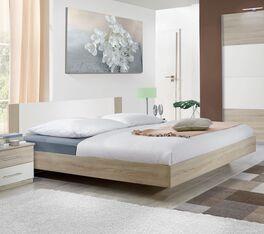 Bett Malwa im geradlinigem Design
