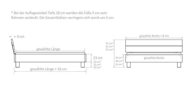 massivholzbett in rustikaler wildbuche mit leistenkopfteil merubo. Black Bedroom Furniture Sets. Home Design Ideas