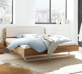 Trendiges Bett Nakiri mit stabilem Holzrahmen