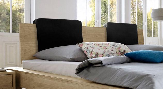 Bett Nino mit optionalen Einsteck-Kissen Zarbo