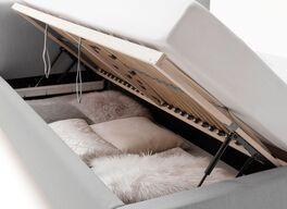 Bett Norelia mit optionalem Bettkasten und Lattenrost
