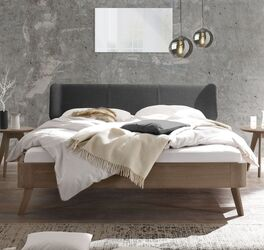 Elegantes Bett Oriane aus hochwertigem Material