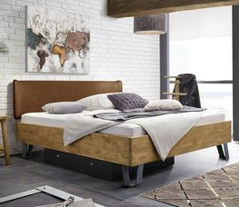 Bett Passo in angesagtem Industrial-Style