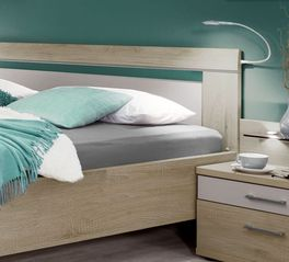 Modernes Bett Pelham inklusive Kopfteil