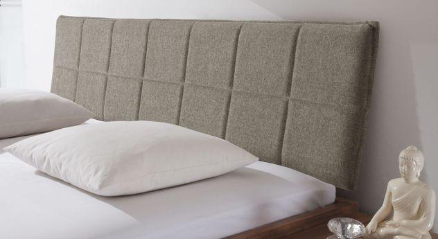 Bequemes Bett Pello mit Kopfteil zum Anlehnen