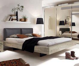 Bett Penco aus hellem Akazienholz