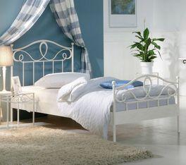 Einzelbett Piemonte mit eleganten Verzierungen