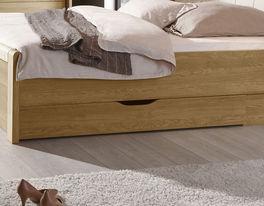 Hochwertiges Bett Praia mit Bettschubkasten
