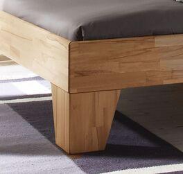 Bett Raijka aus natürlichem Kernbuchenholz