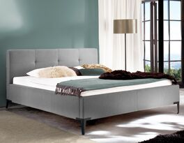 Bett Raritan mit hochwertigem Stoffbezug
