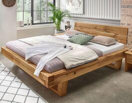 Qualitativ hochwertiges Bett Rigolato aus Echtholz