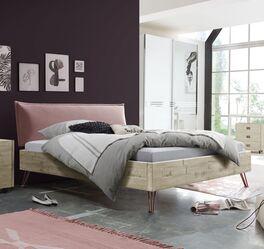 Modernes Bett Rosalba aus robustem Material