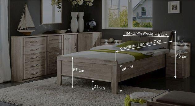 Bett Runcorns Bemaßungsskizze