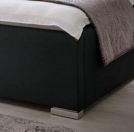 Bett Setiara mit Metallfüßen