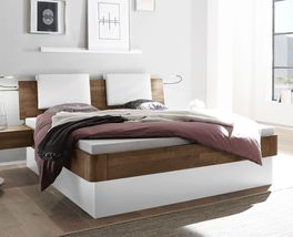 Elegantes Bett Tartu optional mit Bettkasten