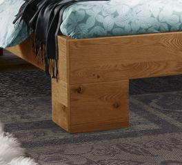 Bett Titao mit robusten Winkelfüßen