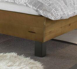 Bett Tonala mit stabilen Metallfüßen