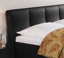 Bett Toskanas gepolstertes Kopfteil mit Steppung