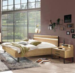 Bett Vitoria modernes Designerbett mit Beleuchtung